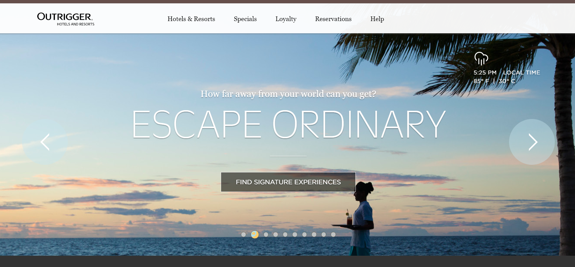ee7f908c4 Outrigger wins Best Hotel Resort Website award